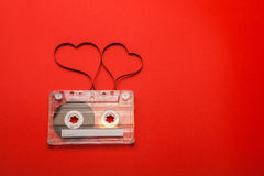 Vintage audio cassette Royalty Free Stock Photography