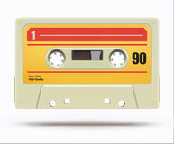 Vintage audio cassette Stock Photography