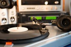 Vintage audio  equipment Stock Photo
