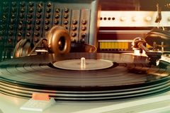 Vintage audio  equipment Royalty Free Stock Images