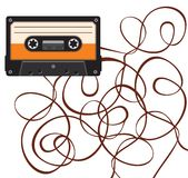 Vintage audio tape Stock Image
