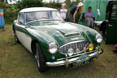 Vintage Austin Healey sports. Stock Image