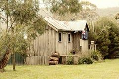 Vintage Australian cabin Stock Images