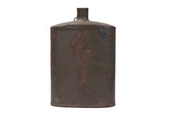 Military canteen WWI period. Vintage Austro-Hungarian military canteen WWI period Royalty Free Stock Photo