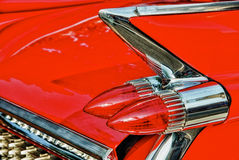 Vintage Auto Detail Stock Image