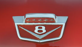 Vintage auto hood ornament Royalty Free Stock Images