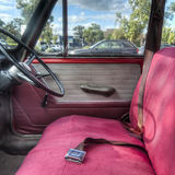 Vintage Auto Interior Royalty Free Stock Photography