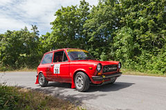 Vintage Autobianchi A 112 Abarth (1977) Royalty Free Stock Photography