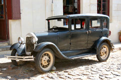Vintage Automobile. Colonia del Sacramento.  Uruguay Royalty Free Stock Photos
