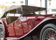 Vintage automobile details Stock Photography