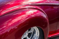 Vintage automobile details Stock Image