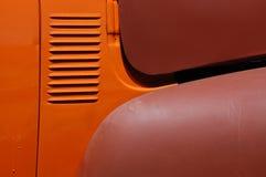 Vintage automobile paint and part restoration Stock Images