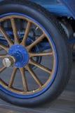 Vintage 1904 Automobile Spoked Wheel Royalty Free Stock Photos