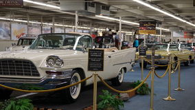 Vintage autos, LINQ Resort, Las Vegas, Nevada Royalty Free Stock Photography
