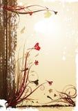 Vintage autumn background Stock Photo
