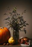 Vintage autumn still life Royalty Free Stock Image