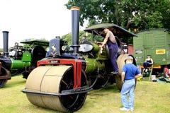 Vintage 1925 Aveling & Porter Road Roller. Royalty Free Stock Images