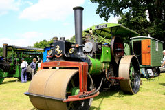 Vintage 1920 Aveling & Porter Road Roller. Royalty Free Stock Photos