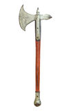 Vintage axe isolated Stock Image