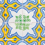 Vintage Azulejo from Portugal Royalty Free Stock Photos