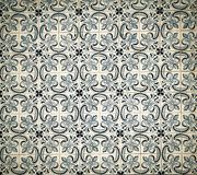 Vintage azulejos, traditional Portuguese tiles.  Royalty Free Stock Photography