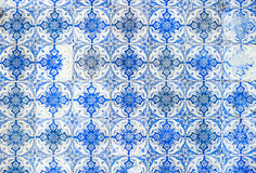 Vintage azulejos, traditional Portuguese tiles Royalty Free Stock Image