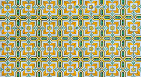 Vintage azulejos, traditional Portuguese tiles Royalty Free Stock Images