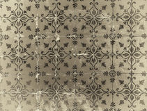 Vintage azulejos, traditional Portuguese tiles Royalty Free Stock Photo