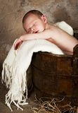 Vintage baby Stock Photography