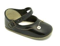 Vintage baby shoe. Vintage mary jane baby shoe Stock Photo