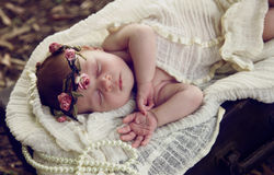 Vintage baby Royalty Free Stock Images