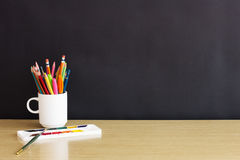 Vintage back to school concept Royalty Free Stock Image