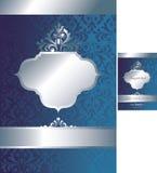 Vintage Background 1-2. Illustration of Vintage Design Background Royalty Free Stock Photo
