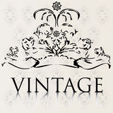 Vintage background. Special vintage background for your shop Stock Photos