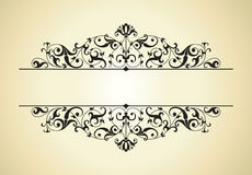 Vintage background. Design of a  in vintage style Royalty Free Stock Image