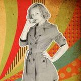 Vintage background Stock Photography