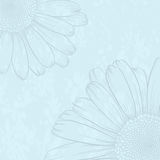 Vintage background. Vector illustration with flower for greeting card Royalty Free Stock Photos
