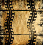 Vintage background. With film frame Royalty Free Stock Photo