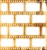 Vintage background. With film flame Royalty Free Stock Photo
