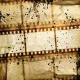 Vintage background. With film flame Royalty Free Stock Image