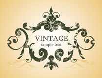 Vintage background royalty free illustration