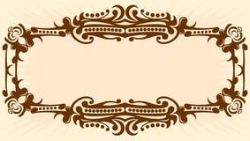 Vintage background. Elegant vintage background. Vector illustration Royalty Free Stock Image