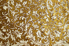 Vintage background. With floral patterns Royalty Free Stock Photo