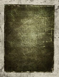 Vintage background. Scratched grunge filled center with aged background vector illustration
