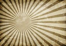 Vintage background. Vintage damaged texture with rays stock illustration