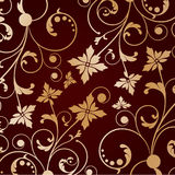 Vintage background with abstract  flower Royalty Free Stock Image