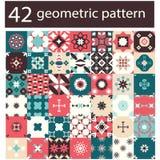Vintage  Background abstract pattern set - Illustration Royalty Free Stock Photo