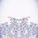 Vintage background, baroque pattern Stock Photo