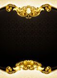 Vintage background black vertical Royalty Free Stock Photography