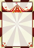 Vintage background circus sunbeams Royalty Free Stock Image